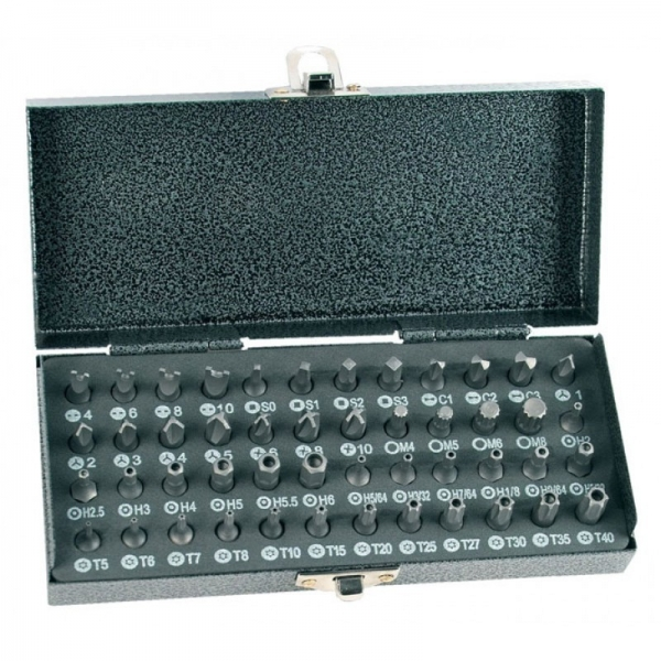 Trusa de biti Mannesmann M29832, 48 piese casaidea.ro
