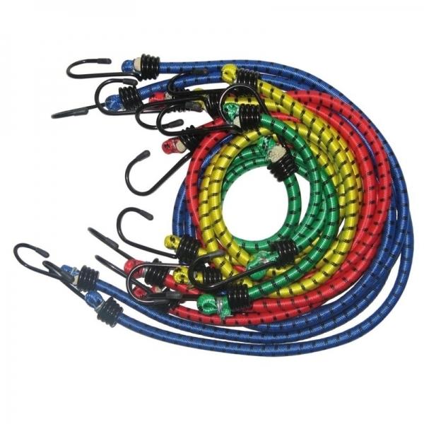 Set de cabluri elastice pentru fixare bagaje forma caracati a 8 brate (800 mm) FILMER