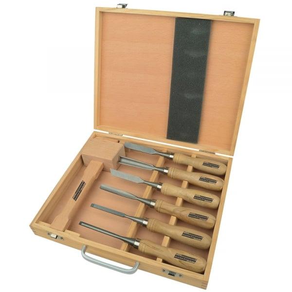 Set de dalti pentru lemn Mannesmann M66107, 7 piese poza casaidea 2021