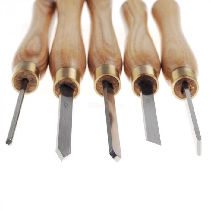Set de dalti pentru lemn ProxxonPRXN27023, 190 mm, 5 piese [3]