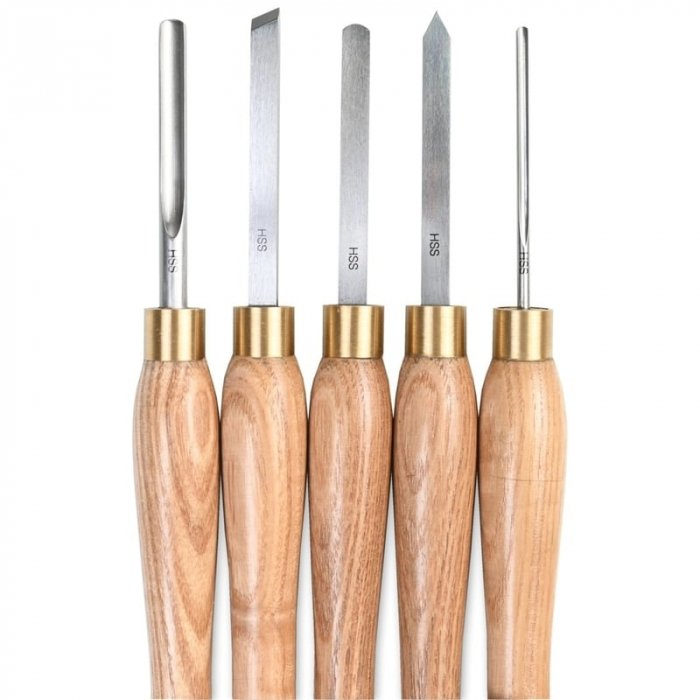 Set de dalti pentru lemn ProxxonPRXN27023, 190 mm, 5 piese [4]