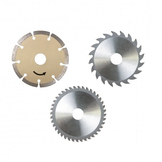 Set discuri pentru fierastrau circular PL285 Scheppach SCH7901805704, O89x10 mm, 3 piese casaidea.ro