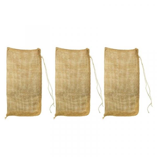 Set de saci din iuta Dema DEMA15601, 60x105 cm, 3 bucati DEMA