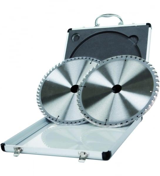 Set discuri de taiere tip TCT pentru fierastrau circular Scheppach SCH7901200716 315x25.4 mm 24 48 Dinti