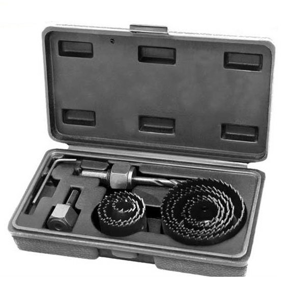 Dispozitiv ajustabil de gaurit gips-carton Wert W2521, Ø22-64 mm, 11 piese 0