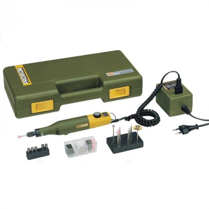 Set pentru gravat, gaurit, frezat MICROMOT 60 E, 40 W, 20000 rpm casaidea.ro