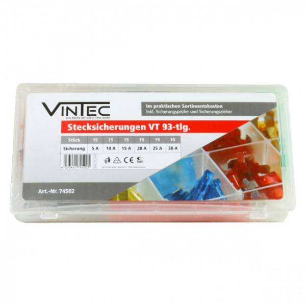 Set sigurante auto plate Vintec VNTC74502, 93 piese VINTEC