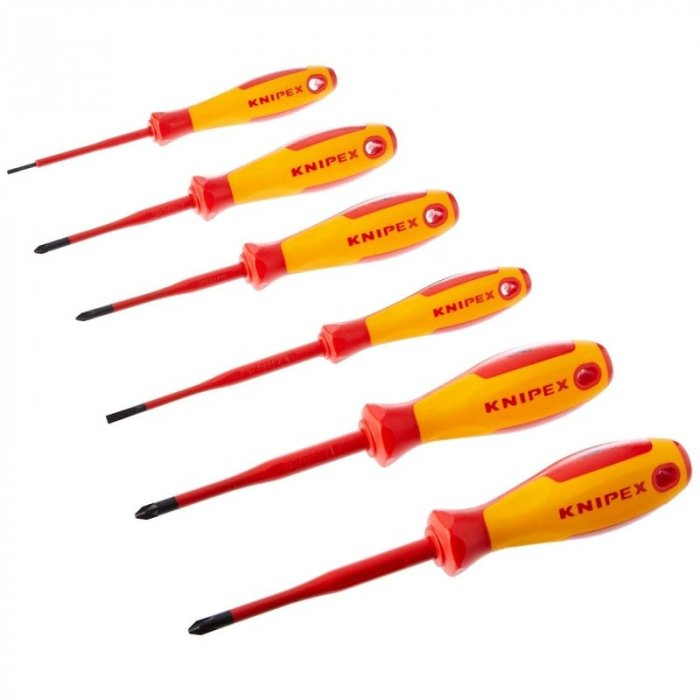 Set surubelnite electrician Knipex KNI002012V02, 6 piese [0]