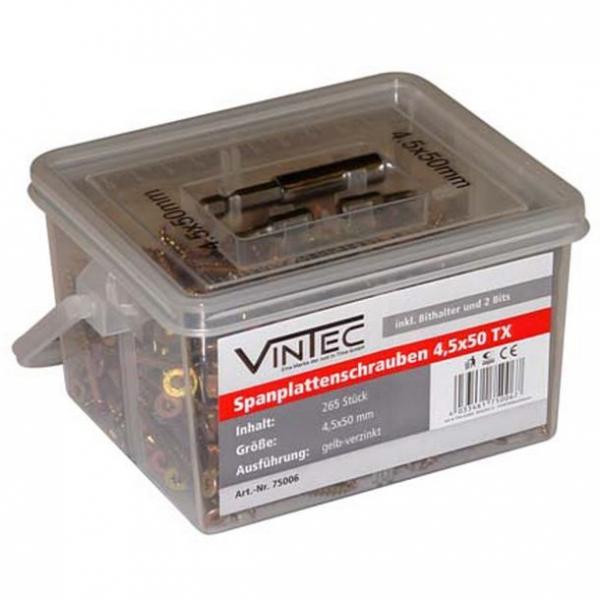 Set suruburi Vintec VNTC75006, O4.5x50 mm, 365 piese VINTEC