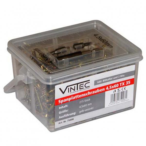 Set suruburi Vintec VNTC75008, O4x60 mm, 215 piese VINTEC