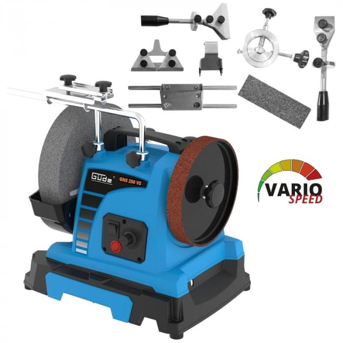 Sistem de ascutire GNS 250 VS Set Guede GUDE55227, 150 W, Ø200-250 mm [4]