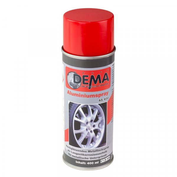 Spray vopsea aluminiu Dema DEMA21119, 400 ml DEMA