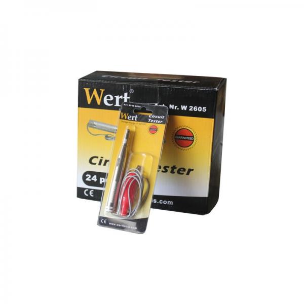 Creion de tensiune Wert W2605, 6-24 V 1