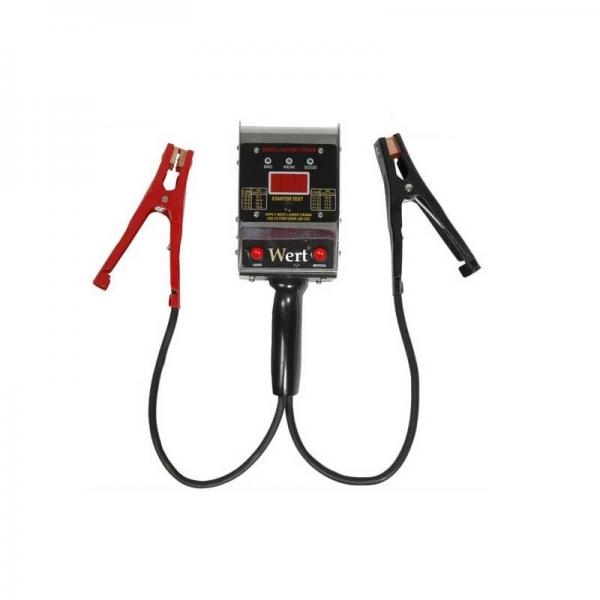 Tester digital baterii Wert W2658, 6-12 V [1]