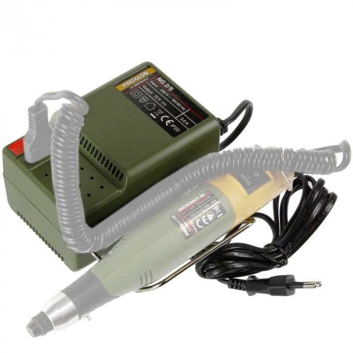Transformator MICROMOT NG 2/S Proxxon PRXN28706, 12 V, 2 A 11