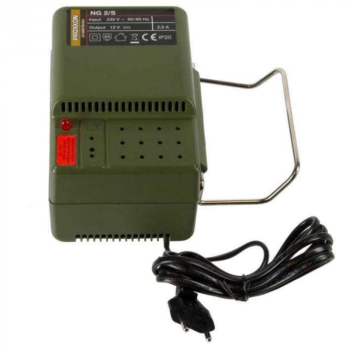 Transformator MICROMOT NG 2/S Proxxon PRXN28706, 12 V, 2 A 3