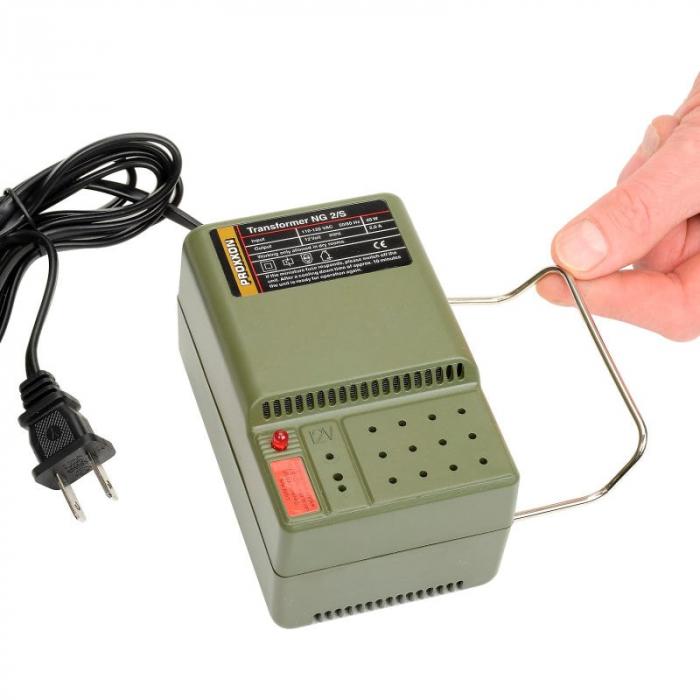 Transformator MICROMOT NG 2/S Proxxon PRXN28706, 12 V, 2 A 8