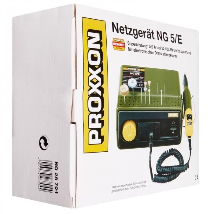 Transformator MICROMOT NG 5/E Proxxon PRXN28704, 12 V, 4.5 A 7