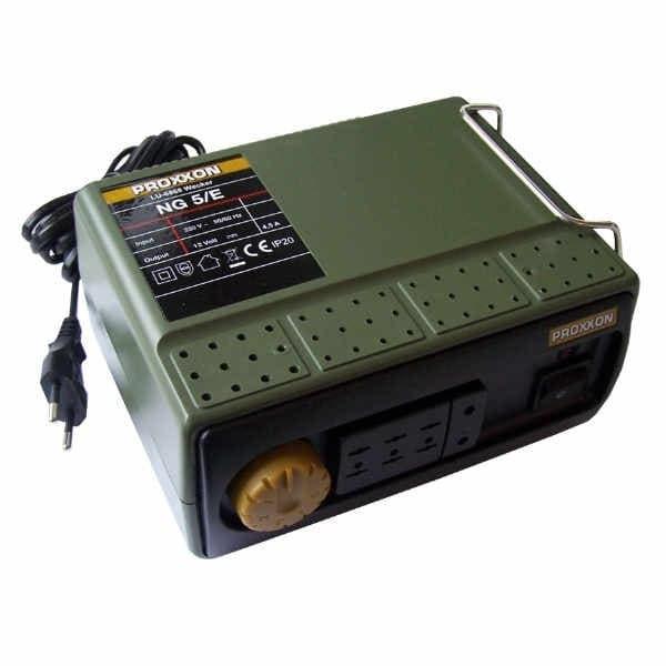 Transformator MICROMOT NG 5/E Proxxon PRXN28704, 12 V, 4.5 A 4