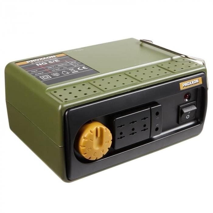 Transformator MICROMOT NG 5/E Proxxon PRXN28704, 12 V, 4.5 A 0