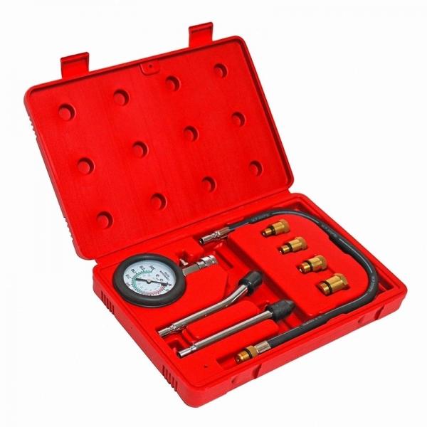 Trusa tester compresie benzina Dema DEMA24561, 0-20 bari, 8 piese casaidea.ro