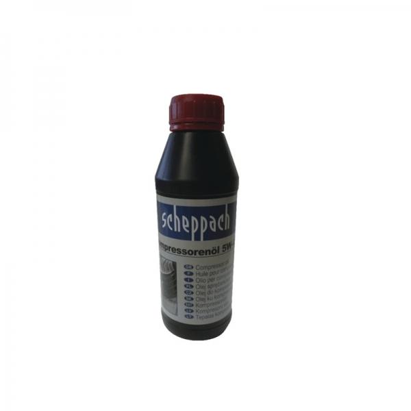 Ulei pentru compresor 5W-40 Scheppach SCH3906100701, 500 ml casaidea.ro