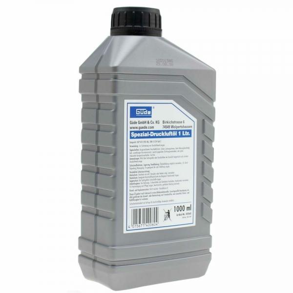 Ulei pentru echipamente pneumatice Guede GUDE40060, 1 litru casaidea.ro