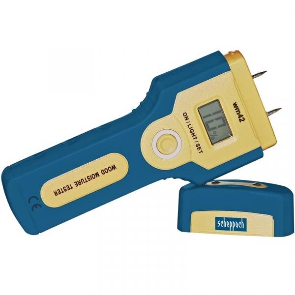Umidometru digital pentru lemn WM 42 Scheppach SCH88001954 Scheppach