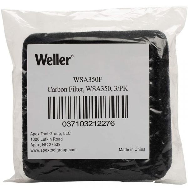 Set filtre carbon pentru extractor de fum WSA350EU Weller WELWSA350F, 3 bucati 3