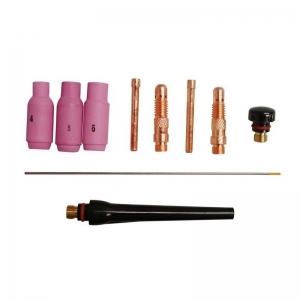 Set accesorii pentru aparat de sudura TIG GIS 200 Guede GUDE41690, 9 piese2