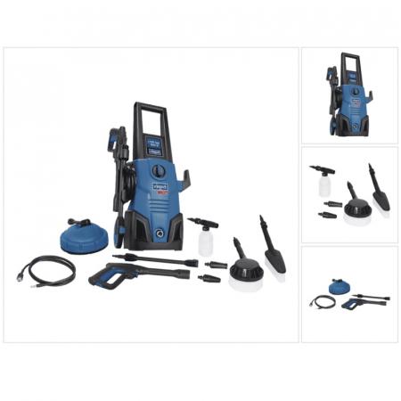 Aparat de spalat cu presiune + 9 accesorii HCE1600 Scheppach SCH5907713903, 1600 W, 135 bari [3]