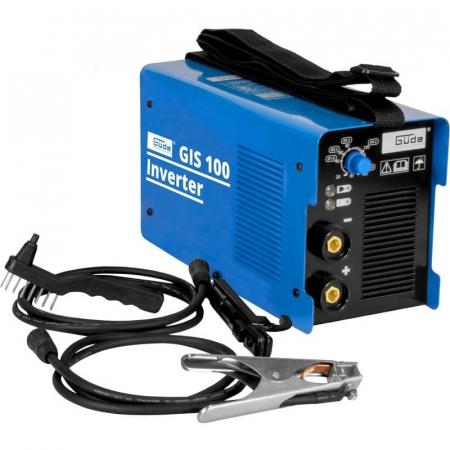 Aparat de sudura tip invertor GIS100 Guede GUDE20023, 10 - 100 A, 4.37 kVA0
