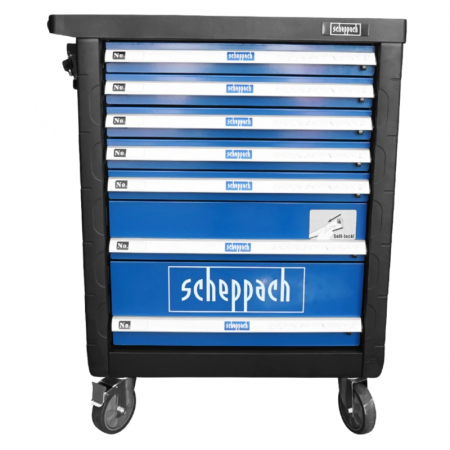 Carucior portabil cu scule TW1000 Scheppach SCH5909304900, 7 sertare, 263 piese20