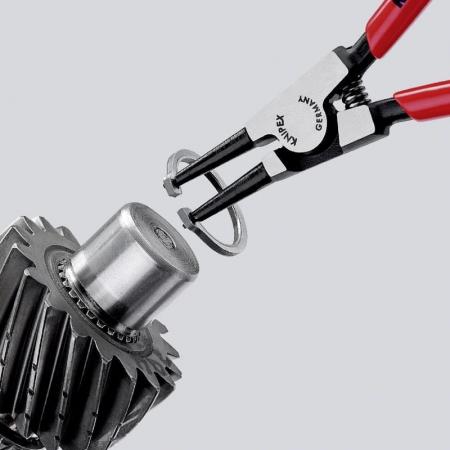 Cleste profesional de deschidere pentru inele de siguranta Knipex KNI4611A1, 140 mm [4]