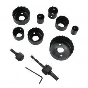Dispozitiv ajustabil de gaurit gips-carton Wert W2520, Ø22-64 mm, 11 piese2