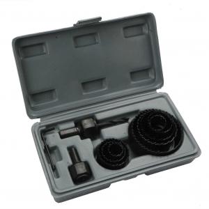 Dispozitiv ajustabil de gaurit gips-carton Wert W2520, Ø22-64 mm, 11 piese0