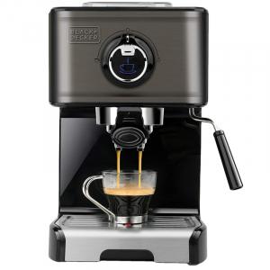 Espressor manual BXCO1200E Black&Decker B+DES9200010B, 1200W1