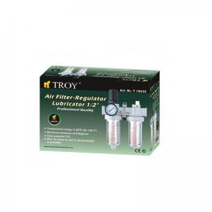 "Filtru - Regulator - Uleietoare Troy T18622, 1/2"", 0-8 bari1"