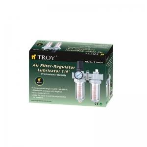 Filtru - Regulator - Uleietoare Troy T18624, 1/4, 10-120 psi, 0-8 bari2