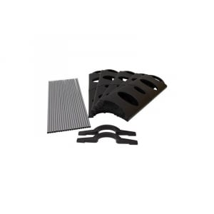 Raft modular pentru incaltaminte cu 10 polite SR10165 Grafner HEU14374, 30 de perechi3