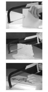 Panza fierastrau pentru taiat ceramica, geam, tabla, lemn Troy T27498, 300 mm [2]