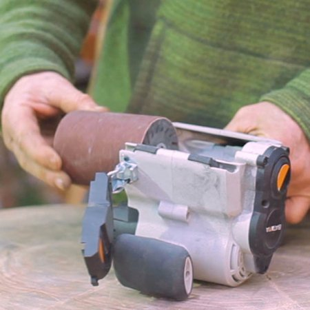 Masina de slefuit cu cilindru MAXXROLL XL Batavia BTV7063500, 420 W, 3200 rpm4