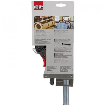 Menghina tip F cu parghie pentru lemn Bessey BESKLI16, 80x160 mm [2]