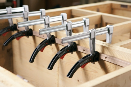Menghina tip F cu parghie pentru lemn Bessey BESKLI16, 80x160 mm [6]
