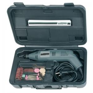 Set mini-polizor si accesorii Mannesmann M92575, 130 W, 50 piese0