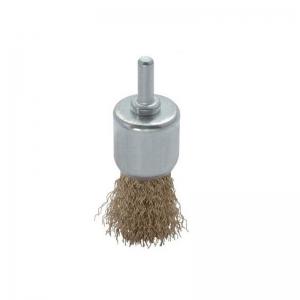 Perie de sarma tip deget cu tija Troy T27701-30, 30 mm0