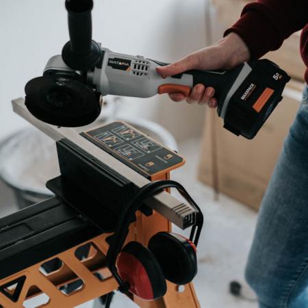 Polizor unghiular fara acumulator 18 V Li-Ion Maxxpack Collection Batavia BTV7062512, Ø115 mm, 8000 rpm2