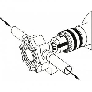 Pompa cu actionare la bormasina Mannesmann M446, 300 rpm, 1500 l/h3