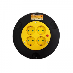 Prelungitor electric pe tambur 4 prize Wert W2455, 5 m0
