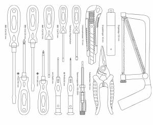 Trusa de scule Mannesmann M29077, 159 piese [6]
